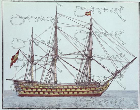 El navio de tres puentes en la Armada Show-midres.php?referencia=004285