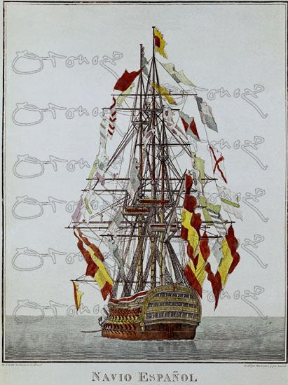 El navio de tres puentes en la Armada Show-midres.php?referencia=004286